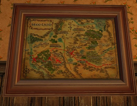 Large Map of Bingo in Bree-land
