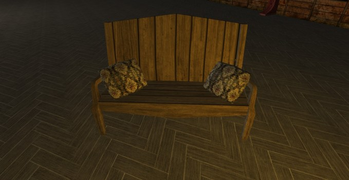 Cushioned Bench