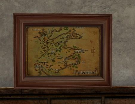 Map of Eregion