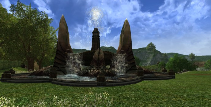 Dol Amroth Fountain