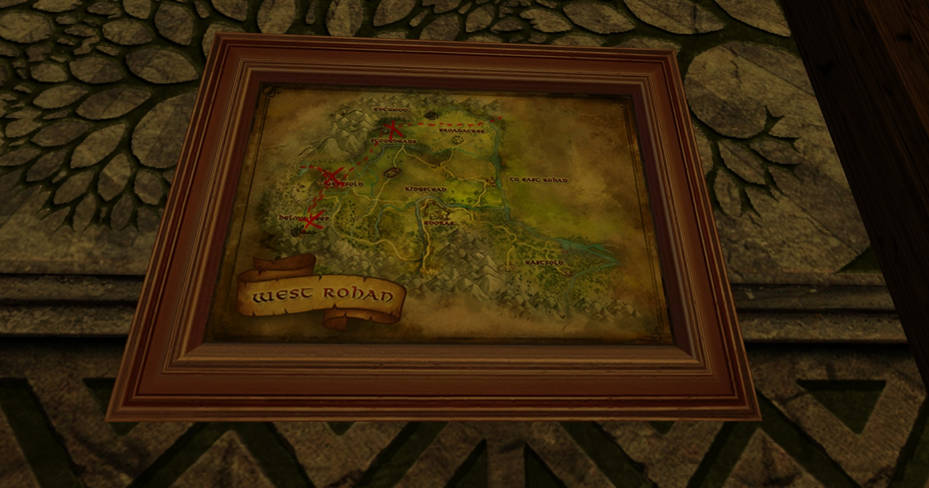 Small Map of Bingo in West Rohan