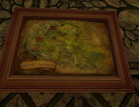 Small Map of Bingo in West Rohan