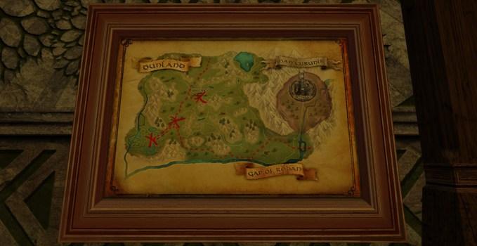 Large Map of Bingo in Dunland