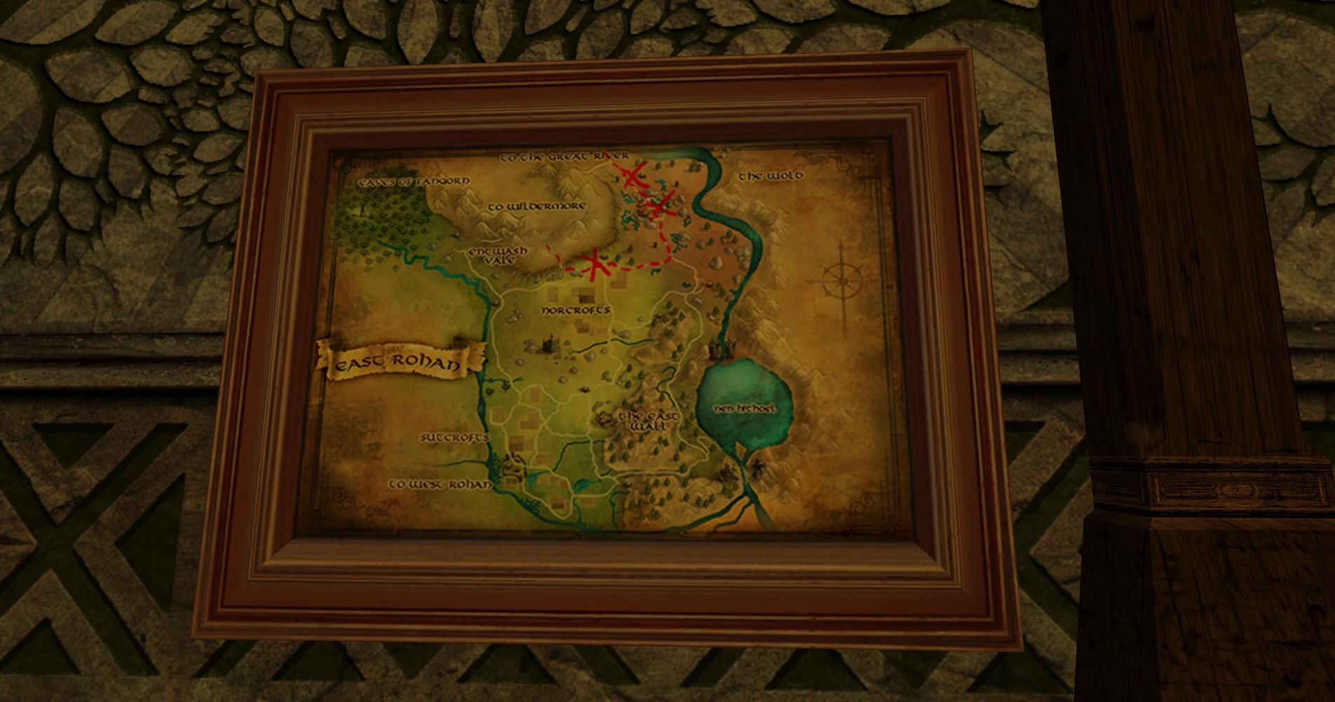 Large Map of Bingo in East Rohan