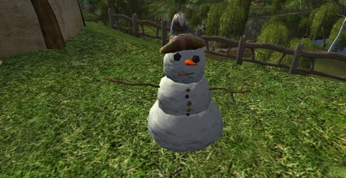 Wizard's Hat Snowman