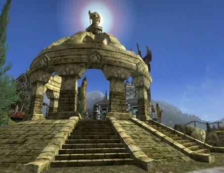 Ruined Stone Gazebo