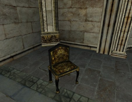 Low-back Gondorian Chair