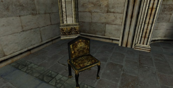 Low-back Gondorian Chair