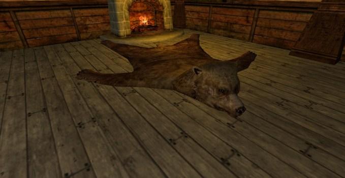 Large Bear-skin Rug
