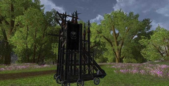 Miniature Siege Tower