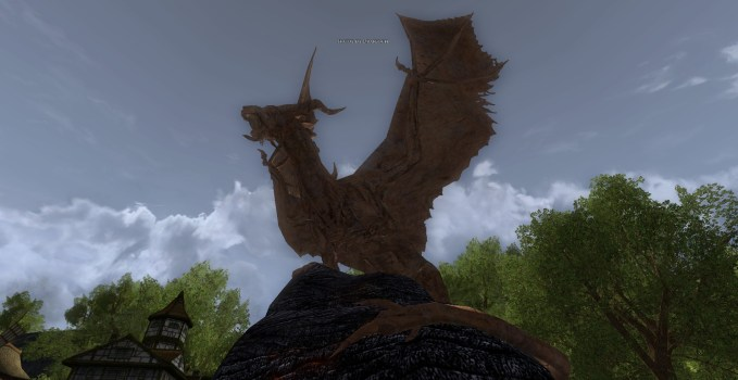 Statue of Draigoch