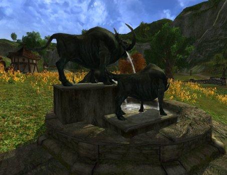 Boar Fountain