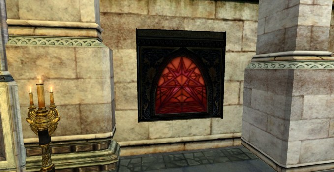 Stained Glass – Red
