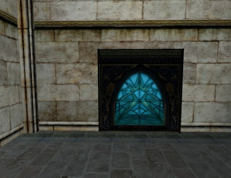 Large Stained Glass – Blue