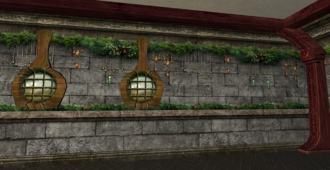 Dwarf Yule-fest Wall