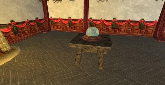 Bree-land Snow-globe