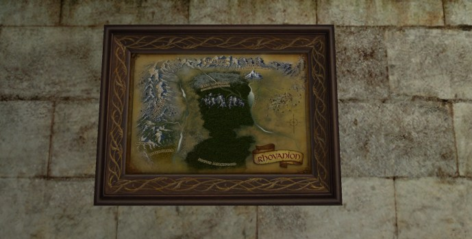 Small Map of Lothlórien (2nd Edition)