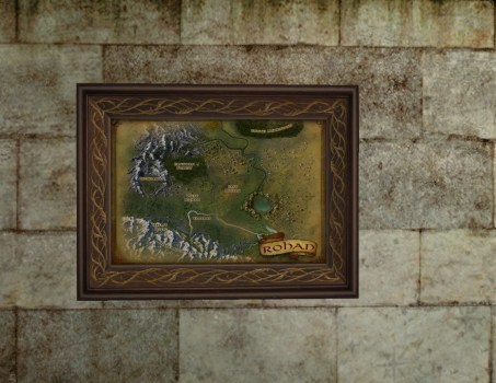 Small Map of Rohan (2nd Edition)