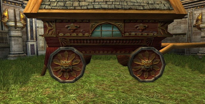 Red Hobbit Waggon