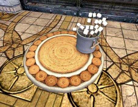 Treats Doormat – Marshmallows