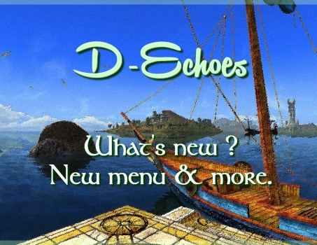 D-Echoes : what's new ?