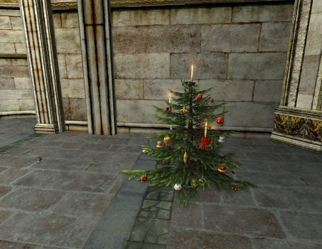 Decorated Yule-Tree
