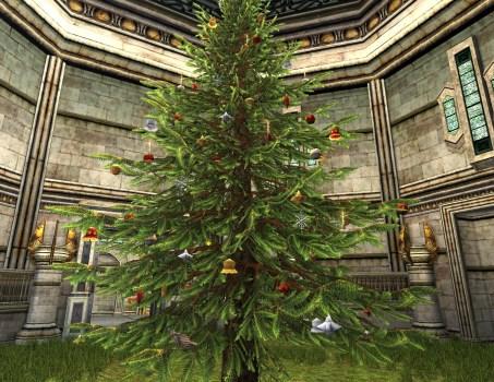 Eye-Catching Outdoor Yule-Tree