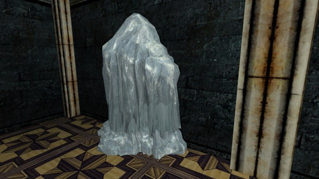 large frozen ice flow 2