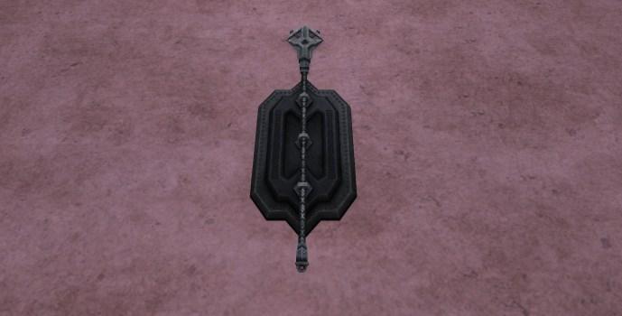 Wall-Mounted Staff