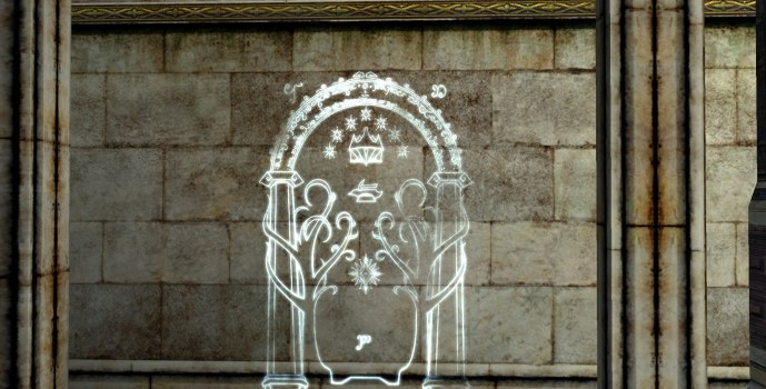 Hollin Gate Wall Engraving