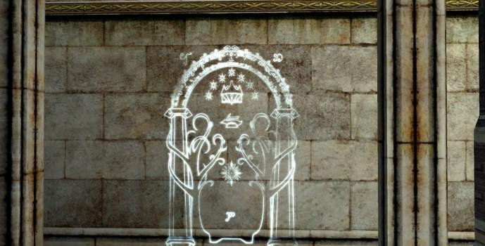 Hollin Gate Wall Engraving