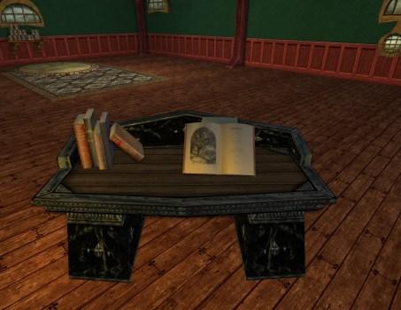 Obsidian Dwarf-make Desk