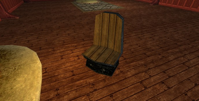 Obsidian Dwarf-make Chair