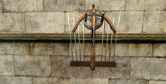 Wall-Mounted Crossbow of the Vales