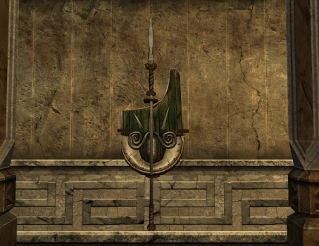 Wall-Mounted Warden's Shield of the Vales