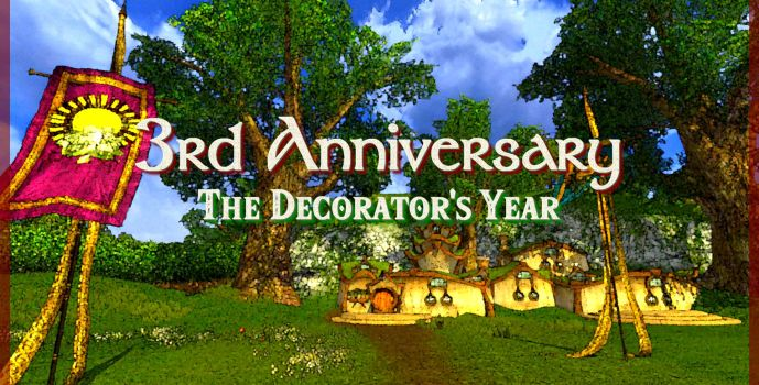 3rd Anniversary – The Decorator's Year
