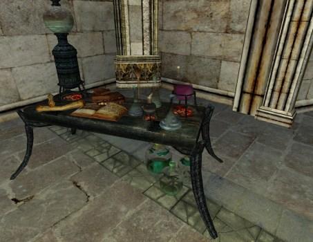 Minas Morgul Alchemy Bench