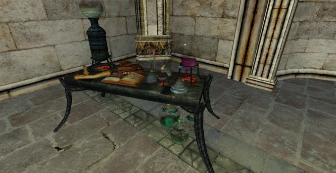 Minas Morgul Alchemy Bench