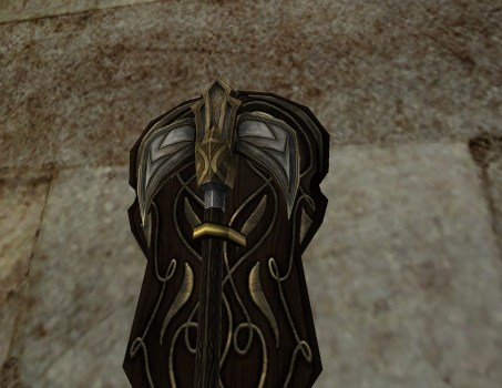 Wall-Mounted Axe of Minas Ithil
