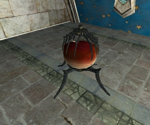Replica of an Ornate Blood Orb