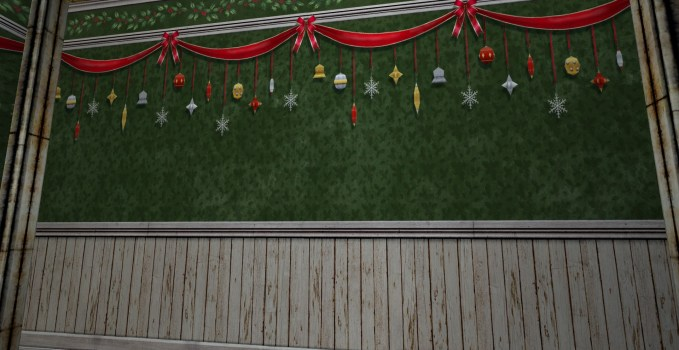 Decorated Winter Walls