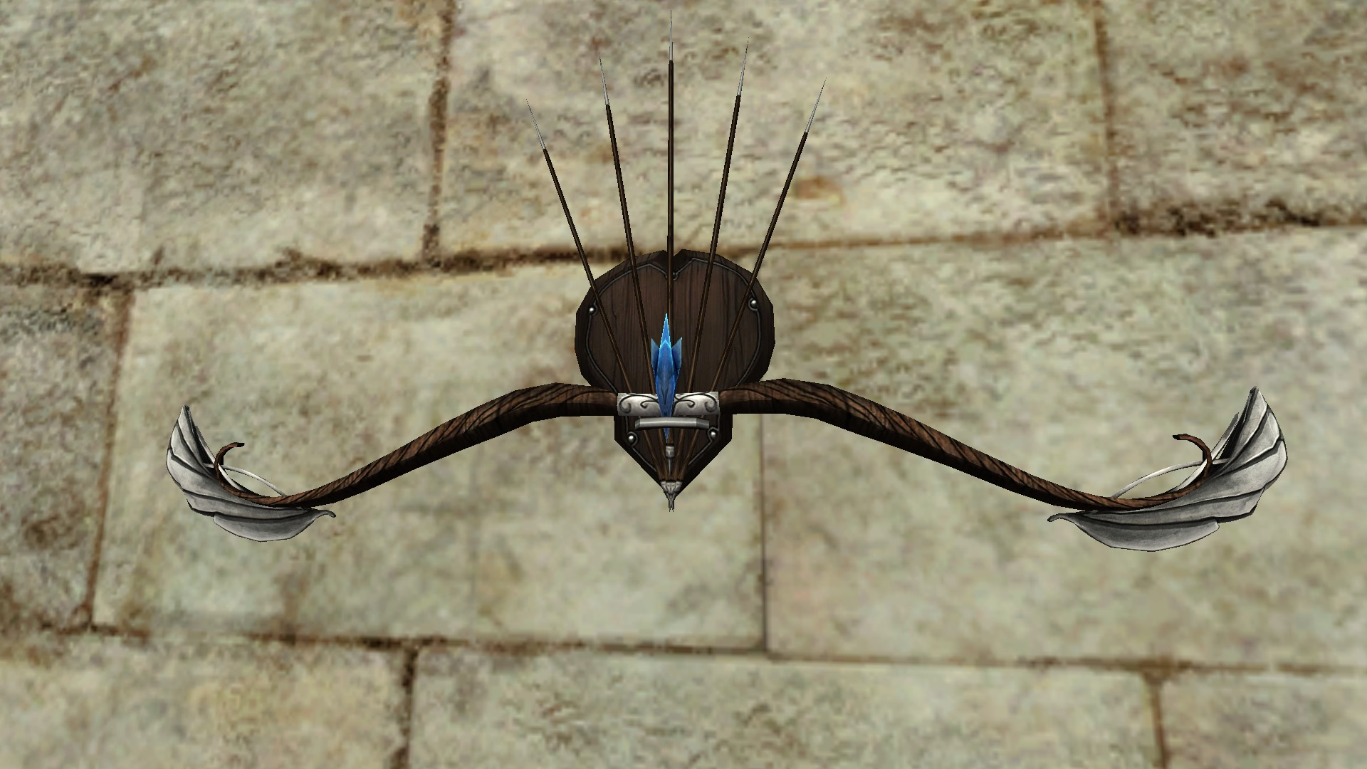 Wall-Mounted Bow of the Remmorchant