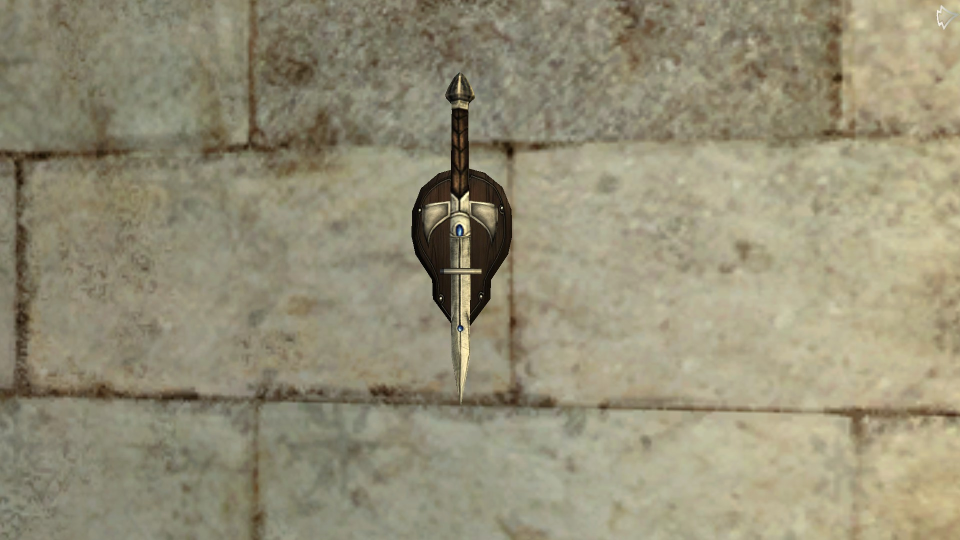 Wall-Mounted Dagger of the Remmorchant