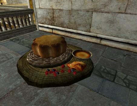Fancy Honey Cake Display
