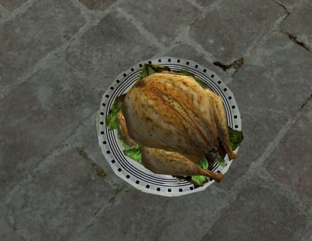 Giant Roast Chicken
