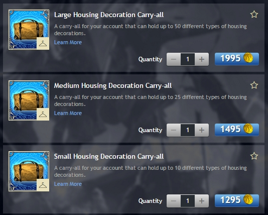 """<a href=""""#""""><strong>Housing Carry-all in the LOTRO Store </strong></a>"""