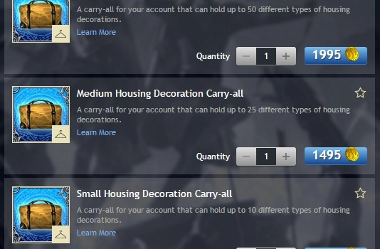 Housing Decoration Carry-All