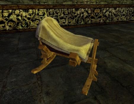 Rohirric Wooden Cradle