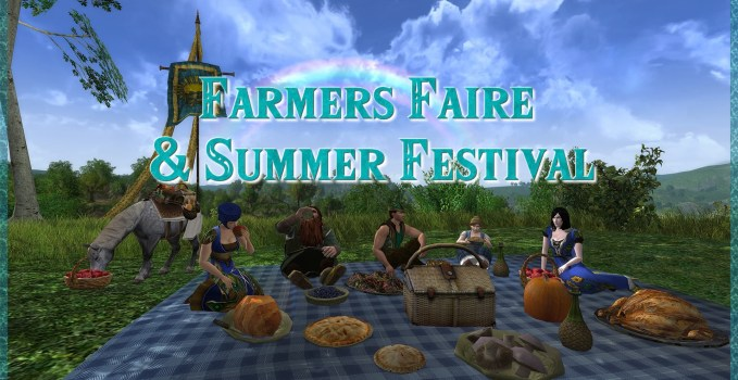 Farmers Faire & Summer Festival Changes