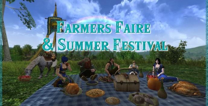 Farmers Faire & Summer Festival Changes